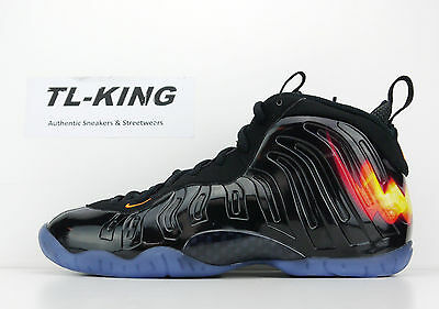 4006ea93799 ... Nike Little Posite One QS GS Youth Foamposite Halloween 846077 002  Limited ...