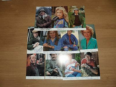 Emmerdale Farm Hand Signed Photo Collection