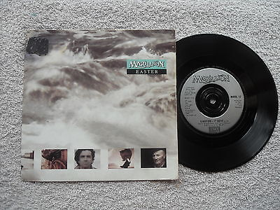 """MARILLION EASTER EMI RECORDS UK 7"""" VINYL SINGLE RECORD in PICTURE SLEEVE"""