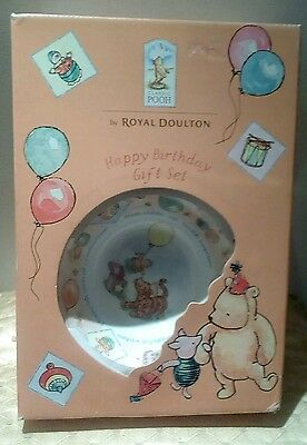 royal doulton winnie the pooh  birthday collection/set
