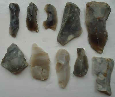 Assorted Prehistoric East Kent Flint Hand Tools