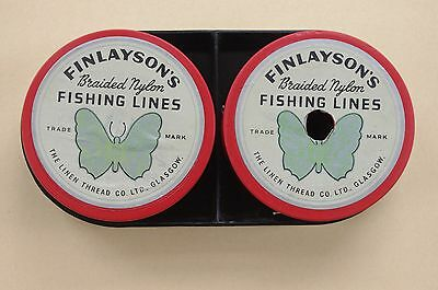 Vintage Finleyson's Bousfield of Scotland braided fishing lines