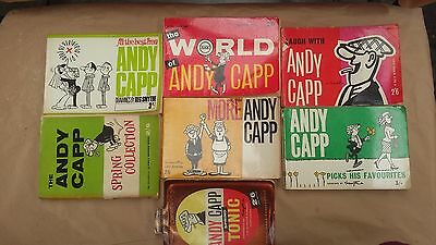Andy Capp Books Anual Rare Collection Daily Mirror Reg Smythe