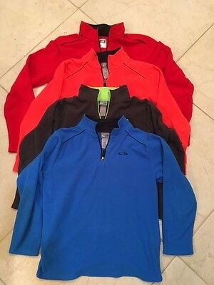 Lot Of 4 Boys Champion Fleece Size Youth Large