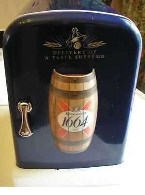 Kronenbourg Deluxe Mini Portable Refrigerator/Drinks Warmer *Great Xmas Gift*