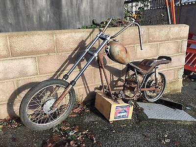 FANTIC CHOPPER 1970's SPORTS MOPED SHED BARN FIND RARE