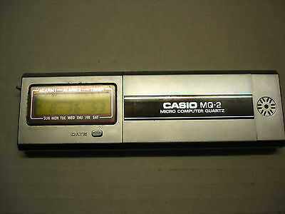 Vintage tech. Casio MQ-2 Micro Computer from the 70's