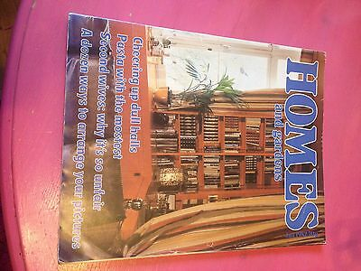 Homes and Gardens vintage edition magazine January 1982