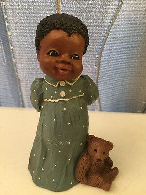 "All God's Children ""Amy"" #80 Miss Martha Figurine Collectible Martha Holcombe"