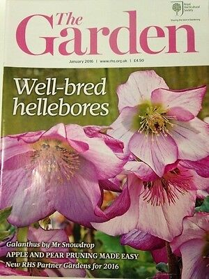 RHS The Garden Magazine January 2016