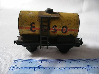 Unresearched ? 12Mm Tt Gauge ? Tinplate Esso Tanker Tank Wagon Train