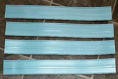 Hot Wheels Blue Green 2003 Skyway Rev-Ups Track Pieces X 4 Spares