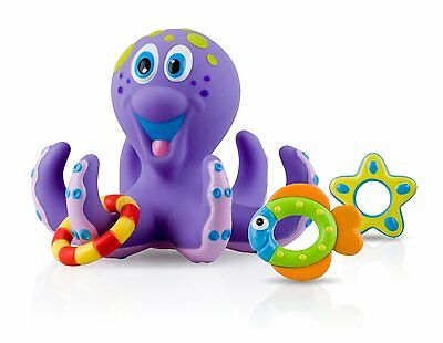 Sea Creatures Floating Bath Toys Baby Shower Kids Pool Fun Pirate Multi Coloured