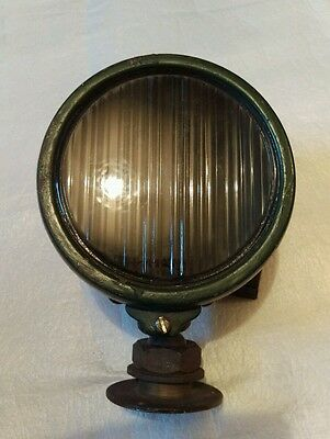 """Vintage / WW2 ? Military Domed Swivel Spot / Search Light, Size Approx 6"""" ."""