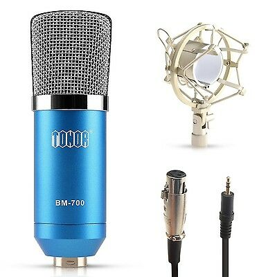 TONOR Condenser Microphone XRL to 3.5mm Studio Recording Mic for PC Laptop wi...