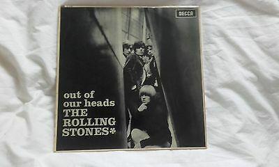 The Rolling Stones Out Of Our Heads Lp Lk 4733 First Pressing Mono