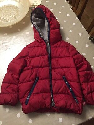 United Colours Of Benetton Coat Aged 4-5yrs