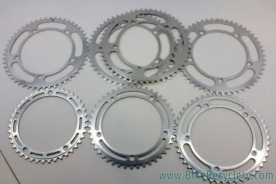 NOS Vintage Campagnolo Nuovo Record Strada Chainrings: 144mm BCD, Various Sizes