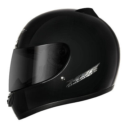 M2R M1 full-face road motorcycle helmet matt black size L large 1110326