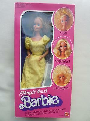 BARBIE MAGIC CURL - vintage - n°3856 - superstar - 1981