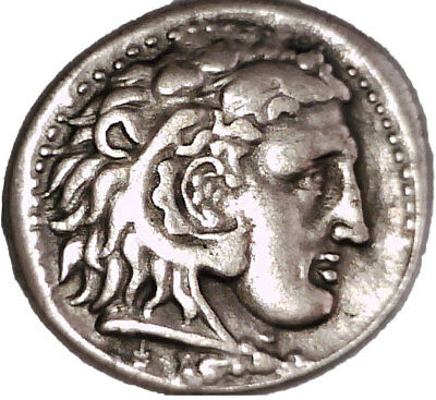 Greece Macedon Alexander Iii Tetradrachm Hercules Zeus Eagle Coin Memphis Egypt