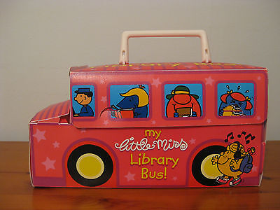 my little miss library bus book collection