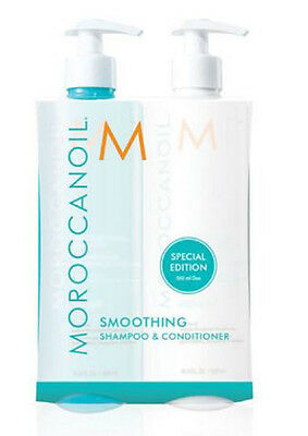Moroccan Oil Smoothing Shampoo & Conditioner Duo Pack 500ml Each