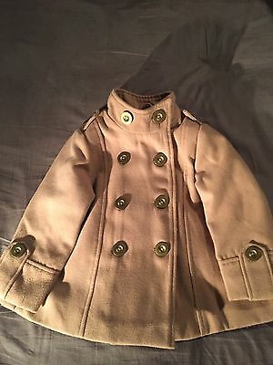 Girls  Wool Coat John Lewis Age 2