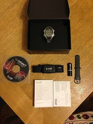 Heart rate monitor watch polar RS800CX