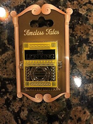WDW Walt Disney World THE LION KING Timeless Tales Book LE Pin with Pumbaa Timon