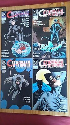 peter parker the spectacular spiderman and catwoman comics