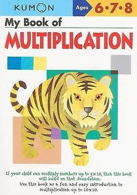 NEW My Book of Multiplication By KUMON PUBLISHING Paperback Free Shipping