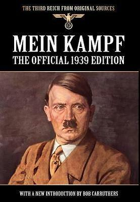 NEW Mein Kampf By Adolf Hitler Hardcover Free Shipping