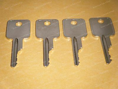Bobcat Ignition Keys S100 S130 S150 S160 S175 S185 S205 Skid Steer Loader 4 Keys