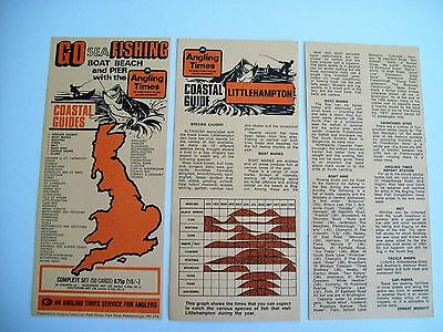Sea Fishing Cards From 1971 (Angling Times)