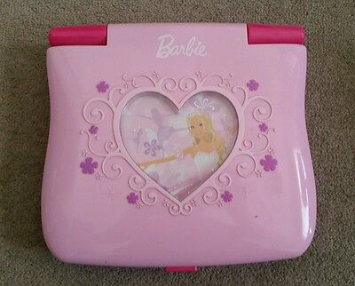 Barbi Kids Toy Laptop - Great Working Condition