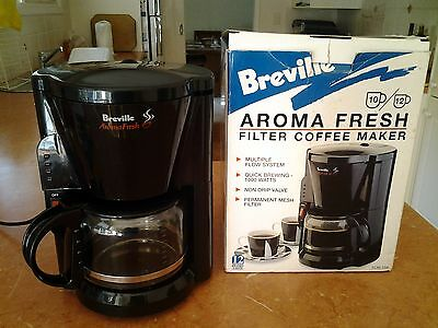 BREVILLE Aroma fresh Style Filter Coffee Maker- 10-12 Cup Capacity