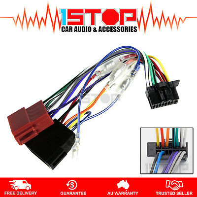 ISO WIRING HARNESS for PIONEER DEH-X3950BT adaptor cable lead loom plug wire