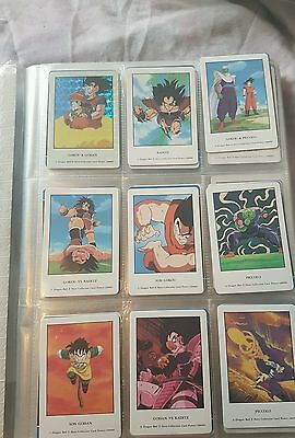 Carte/card dragon ball dbz heros collection part 1a 4 + full prism