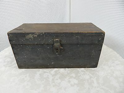 Vintage! Wooden Stage Coach Safe Box