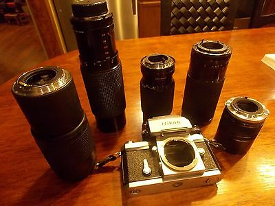 35mm lens and camera lot
