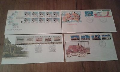 1988 & 1992 First Day Covers unaddressed. CV $35.00
