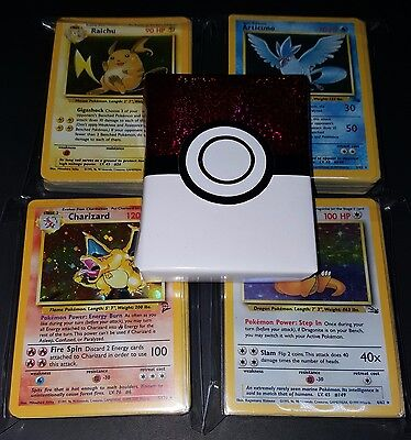 50 Pokemon Card Lot! ALL Old School! Pre Gift Wrapped! Perfect Gift!No Duplicate