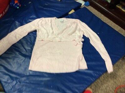 Oh Baby by Motherhood Pink Maternity Sweater Size Large