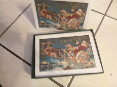 old store stock hallmark christmas cards 80s new