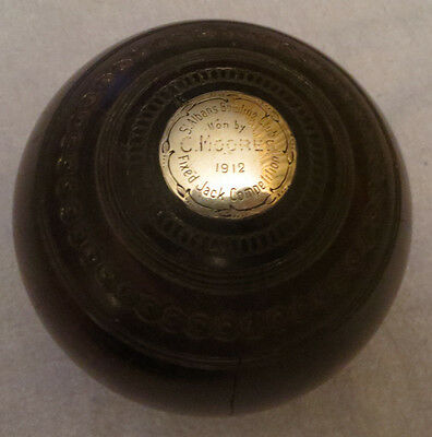1912 Year of Titanic Hardwood and Silver Engraved Fixed Jack Competition Award