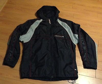 2007 Draxxus Paintball Hooded Zipper Jersey - Jacket LARGE