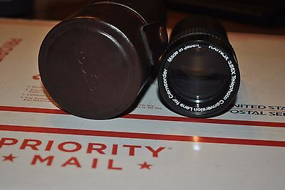 Raynox 3.55X Telephoto Conversion Lens  With Case For Camcorder