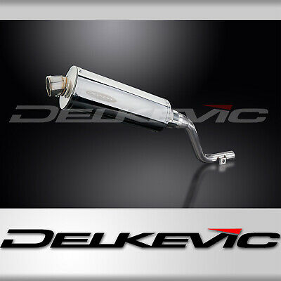 Delkevic Honda Exhaust Silencers CRF250L (2012-2016) 304 Stainless Steel 350mm
