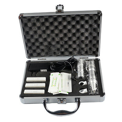 Permanent Makeup Machine Eye LipLine Kit Eyebrow Tattoo Pen Gun Power Supply Set